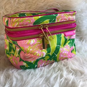 Lilly Pulitzer Target Make Up Bag Train Case